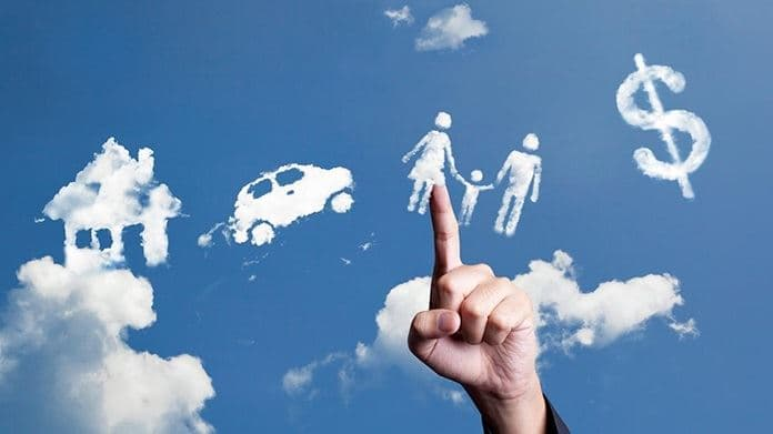 clouds forming money car finger pointing consumer pulse.jpg